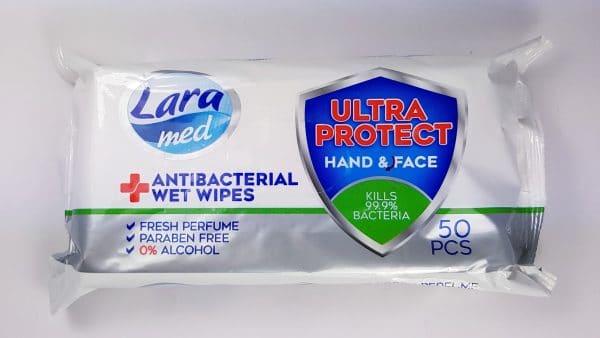 Lara antibacterial wipe