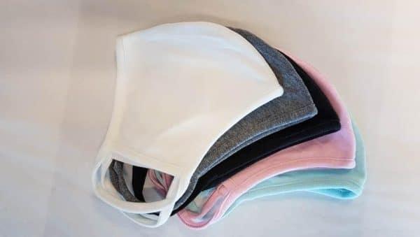 Reusable Cotton Face Mask (5 COLOURS)